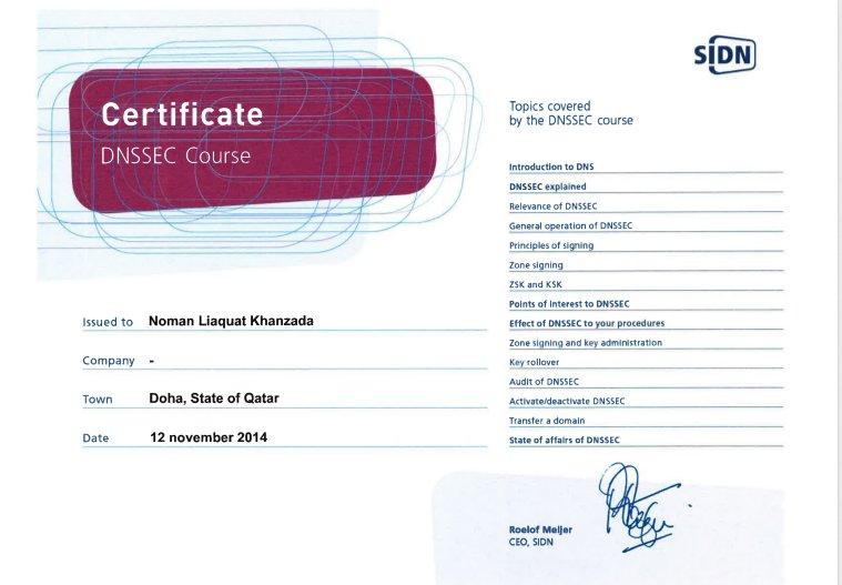 Certificate_DNSSEC_Coure1